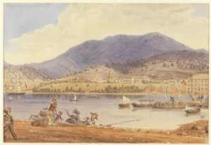 Derwent River in 19th century