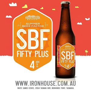Ironhouse Brewery Summer Beer