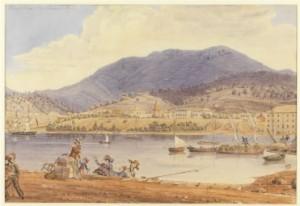 Derwent River in 19th century